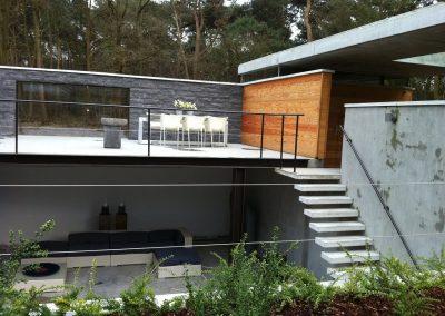 Binnentuin Betonnen Huis