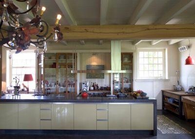 Keuken op maat in woonboerderij