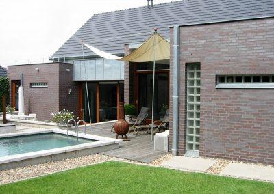 Nieuwbouw met zwembad