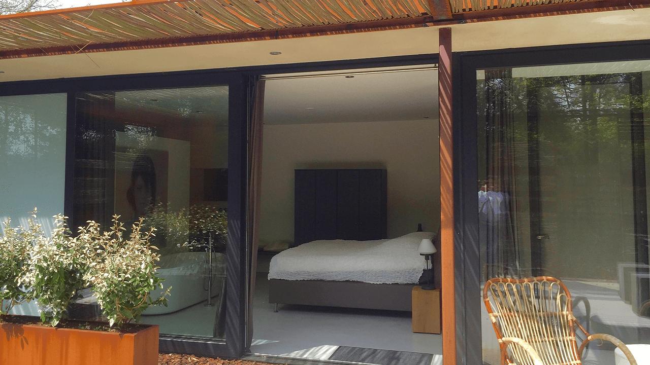 Stalen Boshuis slaapkamer