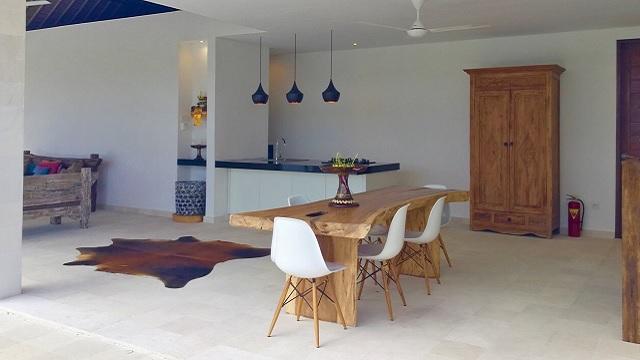 Vakantiehuis Bali keuken