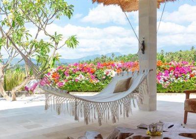 Relaxen in de hangmat