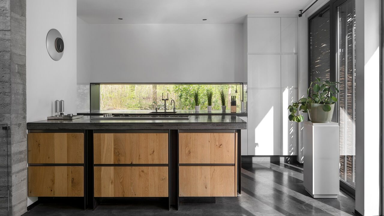 Betonnen-Boshuis-Keuken